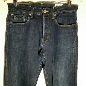 G-Star Raw 3301 Straight Dark Wash Jeans 32x35